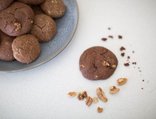 Chocolate Brownie Protein cookies